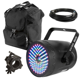 American DJ Rayzer Effect Laser & RGB 3-in-1 Wash Light with Carry