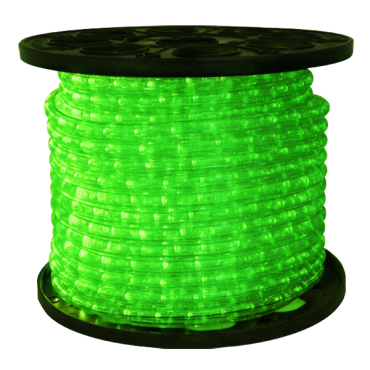 1/2 inch LED Green Rope Light