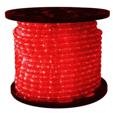 1/2 inch LED Red Rope Light