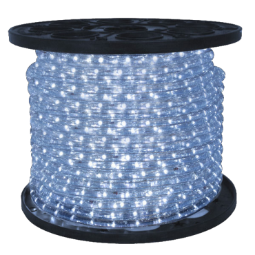 3/8 inch LED Cool White Rope Light