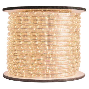 3/8 inch LED Warm White Rope Light