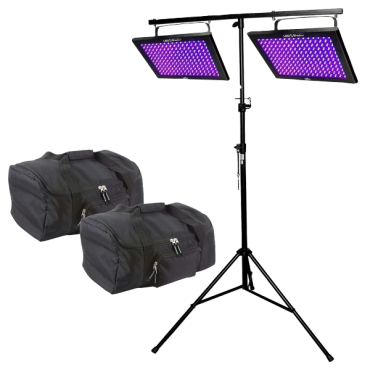 Chauvet DJ LED Shadow Duo Pack with Stands