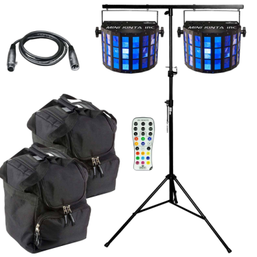 Chauvet DJ Mini Kinta IRC & Stand Package