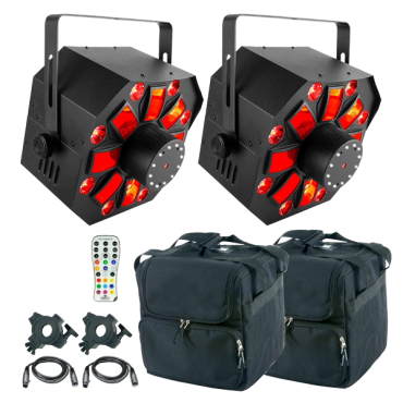Chauvet DJ Swarm Wash FX  & Bags Duo Package