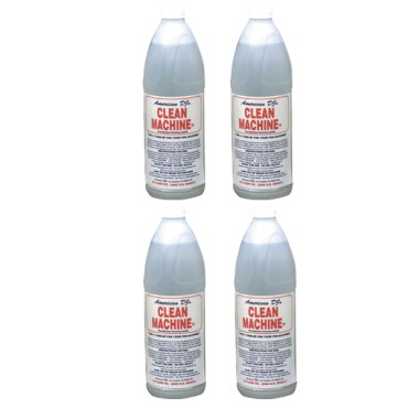 AMERICAN DJ CLEAN MACHINE FLUID - CASE OF FOUR