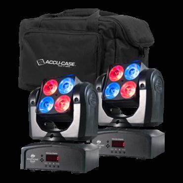 ADJ Pocket Wash Pak with (2) Inno Pocket Washes and (1) F4 Par Bag