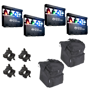 American DJ Quad Scan Pro Four Pack