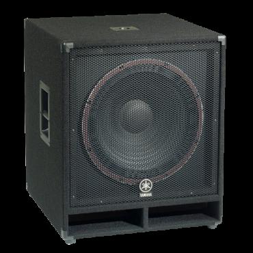 Yamaha sw118v passive subwoofer dj speakers for Yamaha dj speaker