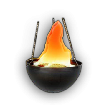 V106 Hanging Fire Cauldron