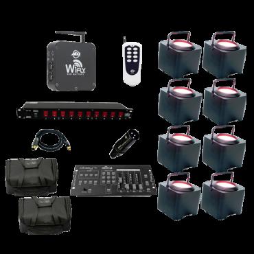 WiFLY EXR Dotz Par Eight Pack