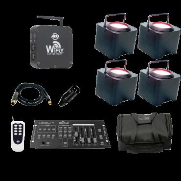 WiFLY EXR Dotz Par Four Pack