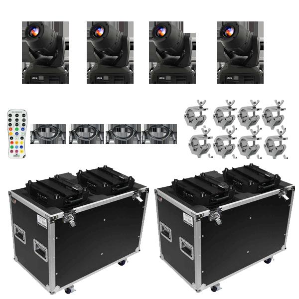 Chauvet DJ Intimidator Spot 455Z IRC Moving Head Quad Package  sc 1 st  123Blacklights.com & Chauvet DJ DJ Intimidator Spot 455z IRC Moving Head Quad   DJ ...