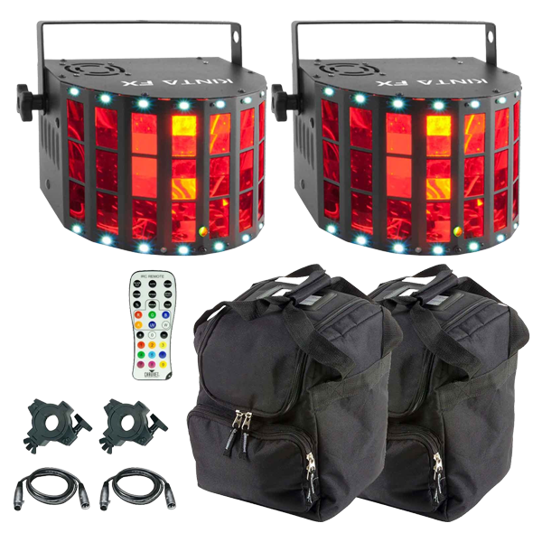 Chauvet DJ Kinta FX Compact Multi-Effect Light Duo Package  sc 1 st  123Blacklights.com & Chauvet DJ Kinta FX Compact Multi effect light DUO | DJ Packages ... azcodes.com