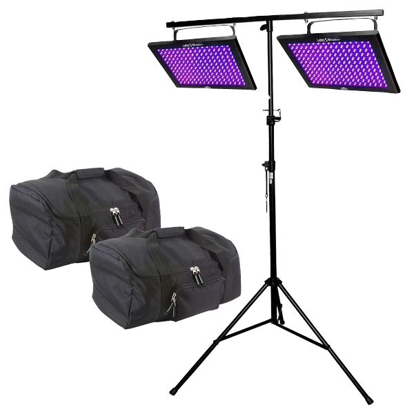Chauvet DJ LED Shadow Blacklight Panel Wash Effect Light Duo Package  sc 1 st  123Blacklights.com & Chauvet DJ LED Shadow Blacklight Panel Wash Effect Light Duo Package ...