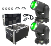 ADJ Inno Beam LED Compact Intelligent Moving Head Duo Package
