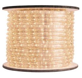 1/2 inch LED Warm White Rope Light