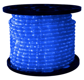 1/2 inch LED Blue Rope Light