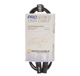 Accu-Cable 5 Foot 3-Pin DMX Cable