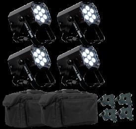 American DJ MOD TW100 LED Par Can 4 Pack