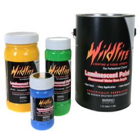 Optical White Visible Luminescent Paints
