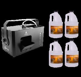 "Chauvet Hurricane Haze 4D + 4x Fluid Gallon ""Warehouse Resealed"""