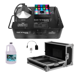 Chauvet DJ Geyser RGB Fog Machine & Odyssey Case Package
