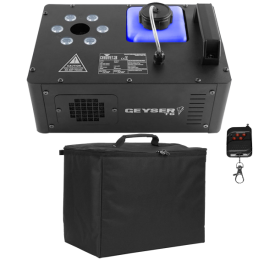 Chauvet DJ Geyser T6 Fog Machine with Padded Carry Case Package