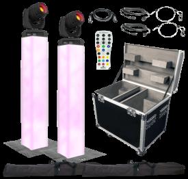 Chauvet DJ Intimidator Spot 355Z IRC & Lighting Towers Duo Package
