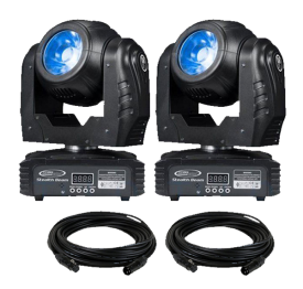 Eliminator Stealth Beam LED Moving Head 2-Pack