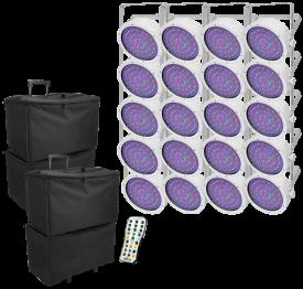 EZpar 64 RGBA White Stage Pack
