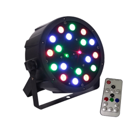 Best DJ Light You'll Ever Buy for $59 - LED 18W RGB Par with Red & Green Laser
