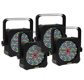LED ePar 64 Four Pack