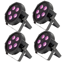 American DJ Mega TriPar Profile Four Pack Uplighting System