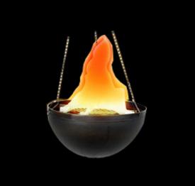 V104 Hanging Flame Light